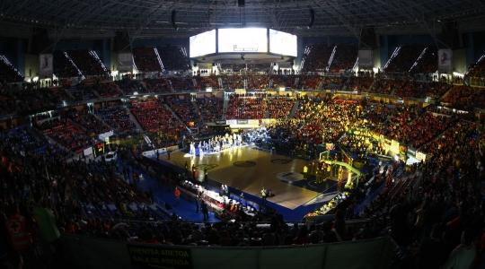 Interior Buesa Arena.