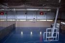 Vista de las toberas del interior del pabellón de deportes