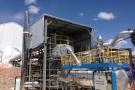 Vista de la planta de fusión